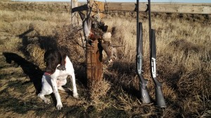 Remi is not much for posing after this hunt at Valhalla