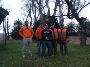 The opening weekend crew, 2013 KS pheasant season.