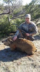 Trav's 2016 TX pig.