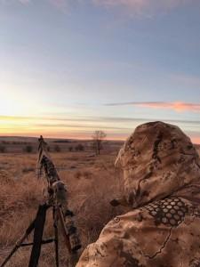 Calling a Kansas sunrise
